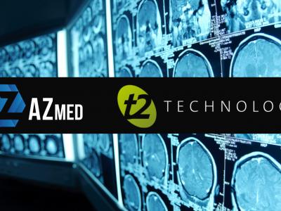 AZmed & T2Technology nouent un partenariat unique pour une offre complète et innovante à destination des radiologues.